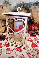 Подсвечник, декор для свадьбы, аксессуар для фотозоны