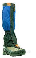Гетры, гамаши с металлическим тросиком Tracker Professional Snow Black/Blue