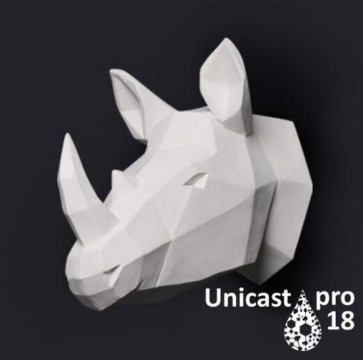 Полиуретан модельный Unicast pro18 ярко-белый. Уп-ка 980г.