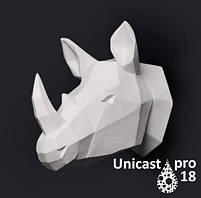 Полиуретан модельный Unicast pro18 ярко-белый. Упаковка 980г.