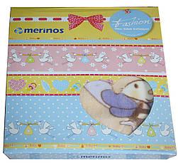 """2 в 1 плед - одеяло детское """"Merinos"""" 1, фото 2"""