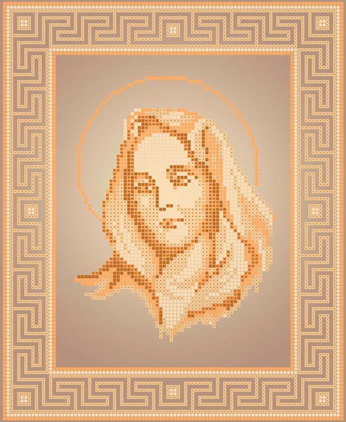 Схема для вишивки та вишивання бісером Бисерок ікона «Кали» (A4) 20x25 (ЧВ-3111(10))