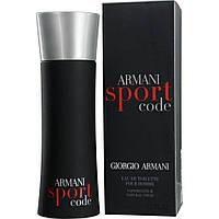 Мужская туалетная вода Giorgio Armani Armani Sport Code,125 мл