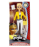 """Шарнирная кукла Хлоя Буржуа из м/ф """"Леди Баг и супер Кот"""" - Miraculous Chloe Fashion Doll"""