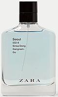 ZARA Seoul EDT 100 ml TESTER  туалетная вода мужская (оригинал подлинник  Испания)