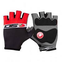 Перчатки для фитнеса Sidi Dino 3 Summer Gloves No.2152 Black/Red L (PCSGUESTDINO3L)