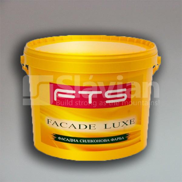 Фасадная силиконовая краска FTS «FACADE LUXE», 10л
