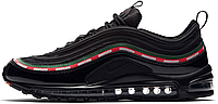 Мужские кроссовки Nike Air Max 97 Undefeated Black Найк Аир Макс 97 черные