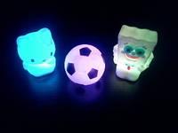 Мини светильник мяч, хелоу кити, спанч боб, фото 1