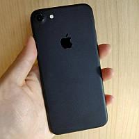 Матовые Черные Наклейки на iPhone 7 Скин Виниловые Декоративные Защитная Пленка Матовая 3D Винил Стикер Мат