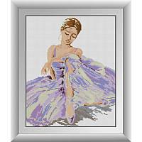 Мозаика стразами камнями Балерина Dream Art 30532 (34 х 42 см)