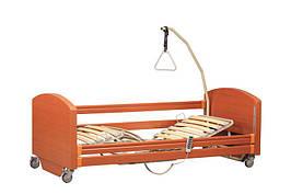 """Комплект OSD-91EV: Ліжко з електромотором """"Sofia Economy"""" на колесах, з перилами і гускою, регульована висота"""