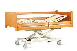 """Комплект OSD-NATALIE-90CM: Ліжко з електромотором """"Наталі"""" на колесах, з крестовиною, з перилами і гускою,"""