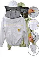 Куртка пчеловода Premium, с маской и замком
