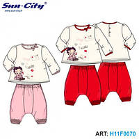 Кофта и шаровары SunCity - Betty Boop (H11F0070), 6-23 мес.