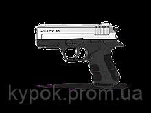 Пистолет стартовый Retay X1 кал. 9 мм. Цвет - Nickel