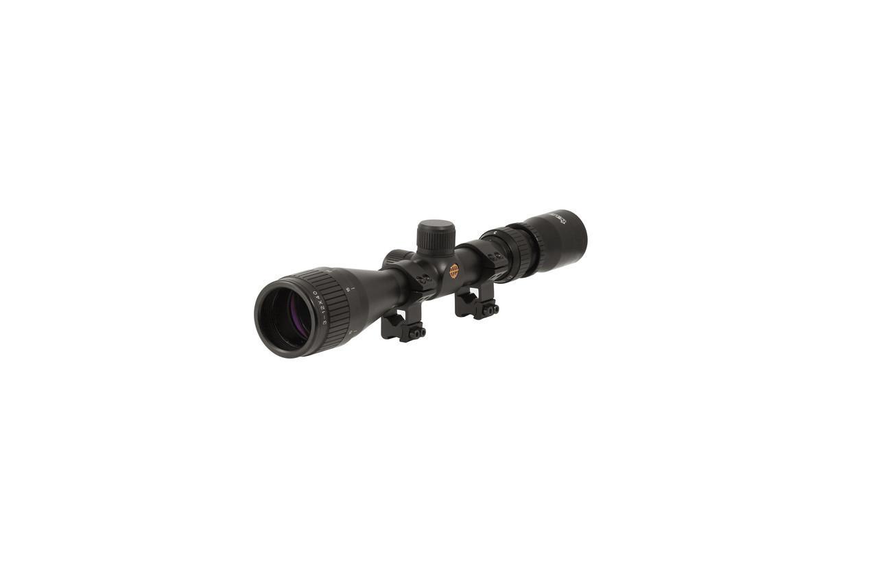 Прицел оптический 3-9x32 Tasco, металлический корпус не боится ударов и вибраций