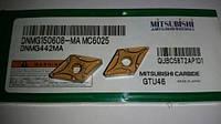 DNMG150608-MА МС6025 MITSUBISHI пластины твердосплавные сменные
