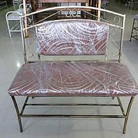 Кованый диван 90 см