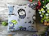 Подушка совушки салатовые,  34 см * 34 см