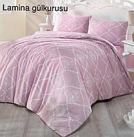 Постельное белье ранфорс Altinbasak (полуторное) № Lamina Gulkurusu