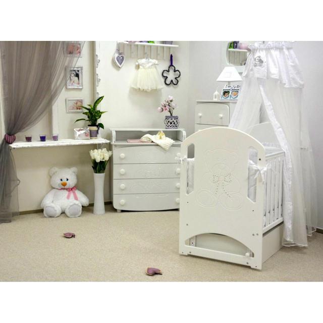 Для економії простору в дитячій кімнаті можна купити ліжечко для  новонароджених зi шухлядою. 0ca1abdc3a396