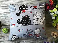 Подушка кошки-мышки,  35 см * 35 см
