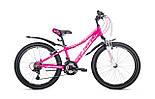 """Подростковый велосипед AVANTI JASMINE 24"""" 13""""  Розовый/Белый"""