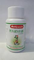 Пунарнавади гугул, тонизирует и омолаживает почки, все виды отеков, Punarnavadi Guggul (80tab), фото 1