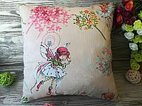 Подушка маленькая фея,  35 см * 35 см