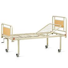 Ліжко металеве функціональна двосекційна на колесах OSD-93V+OSD-90V