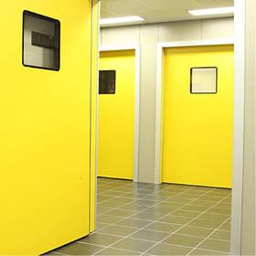 Медичні та герметичні двері