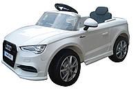 Детский электромобиль T-795 Audi A3 WHITE, белый***