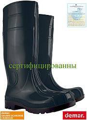 Резиновые сапоги мужские (рабочая резиновая обувь) DEMAR Польша BDMAXXS5 B