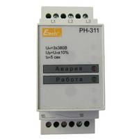 Реле контролю фаз та напруги РН-311 2 регулювання