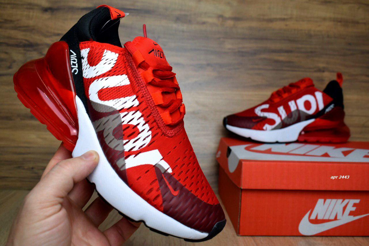 new styles 98905 e624d Женские кроссовки Nike Air Max 270 Supreme, красные