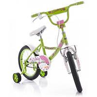 """Детский двухколесный велосипед Azimut Kathy -12"""" , салатовый, фото 1"""