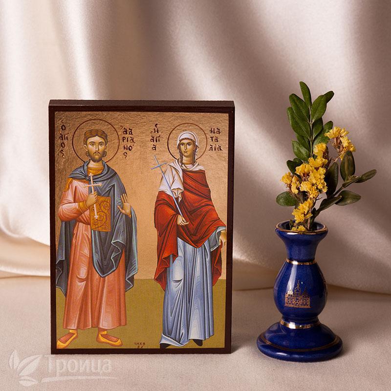 Икона Адриан и Наталья