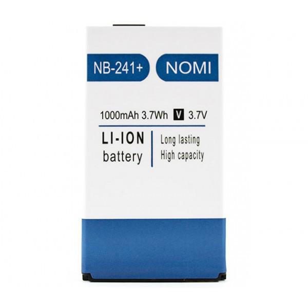 Аккумулятор NB-241 для Nomi i241, Nomi 241+ (ORIGINAL) 1000mAh