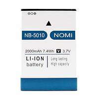 Аккумулятор NB-5010 для Nomi i5010 (ORIGINAL) 2000mAh