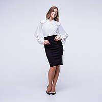 Блуза 0067-white | Vichitore