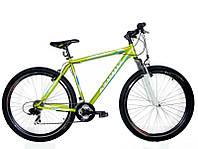 Спортивный велосипед 26 дюймов Azimut Swift  217-G-1(оборудование SHIMANO) салатовый