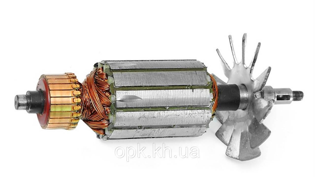 Якорь тст-н болгарки Ижмаш 180/1900, Craft-tec PXAG227 (42*183 мм, хвостовик - шпонка+резьба 9 мм)
