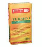 Клей для приклеевания пенополистирольных плит FTS «TERMO 1», 25 кг, фото 4
