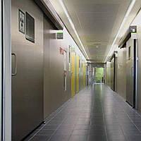 Manusa Visio Hermetic розсувні  рентгенозахисні двері для кабінетів радіології