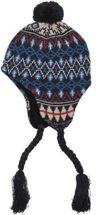 """Акриловая шапка, флисовая подкладка """"Peru Callao"""" 10042A , фото 2"""