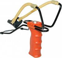 Рогатка большая с упором, для спортивной стрельбы металлическими шариками