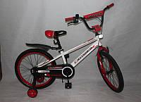 Велосипед двухколёсный 20 дюймов Azimut SPORTS CROSSER -1 бело- красный