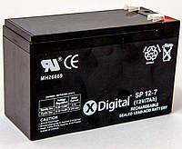 Аккумуляторная батарея X-Digital 12V 7Ah