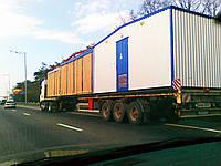 Перевезення модульних будівель.